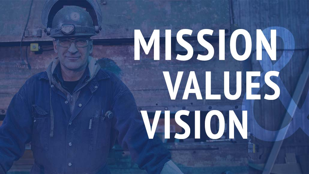 Mission Values Vision